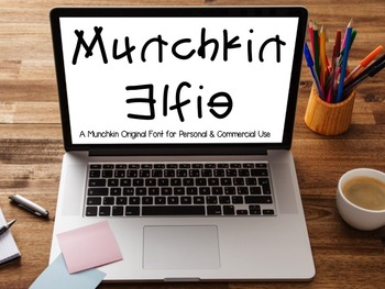 Munchkin Elfie: A FREE font for personal & commercial use