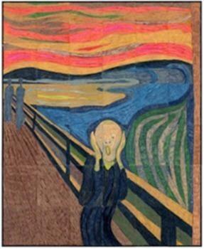 Munch's The Scream Mural