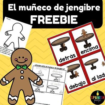 Muñeco de jengibre Freebie (Spanish Gingerbread man activities)