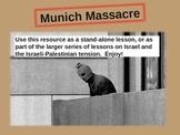 Munich Massacre (1972 Olympics) - engaging 23-slide PPT w video links & handouts