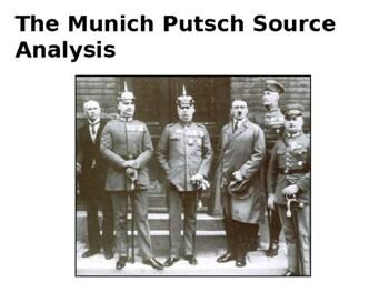 Munich Putsch Source Analysis Activity