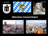 (EUROPE GEOGRAPHY) Munich Sights and Videos Presentation