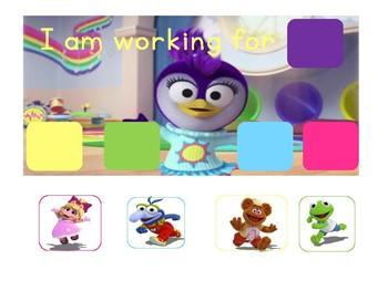 Muppet Babies Token Board