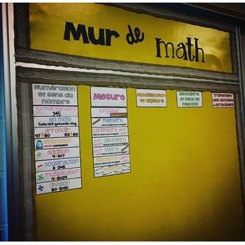 Mur de maths - Mesure (4e)