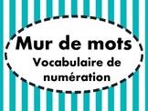 Mur de mots - Numération / arithmétique