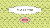 Mur de mots: additions et soustraction