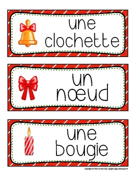 Mur de mots de Noël  (Christmas Word Wall)