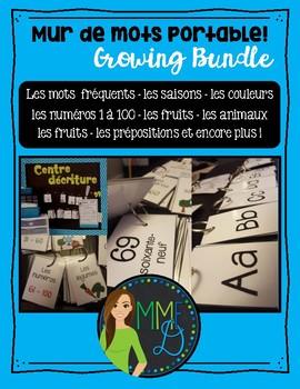 Mur de mots portable - Growing Bundle