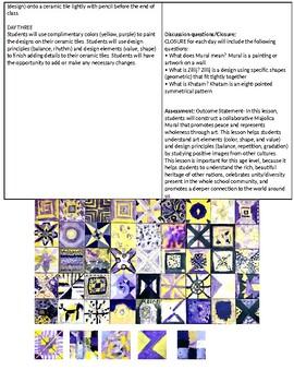 Mural - Art lesson plan