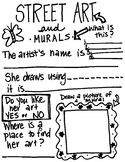 Mural and Street Art Note Taking Handout