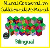 Mural cooperativo Cube Collaborative Mural Bilingual Españ