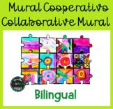 Mural cooperativo Puzzle Collaborative Mural Bilingual Esp