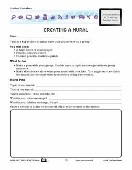 Murals and Graffiti Lesson Plan Grades 4-6 - Aligned to Common Core
