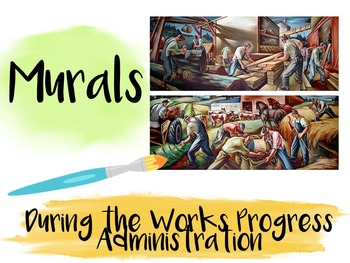 Murals during the Works Progress Administration