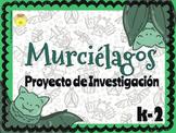 Spanish Bats Research Project - Murcielagos Proyecto de Investigacion.
