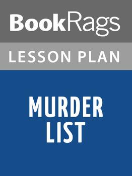 Murder List Lesson Plans
