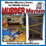 Murder Mysteries for Middle School: Murder Mayhem Bundle w