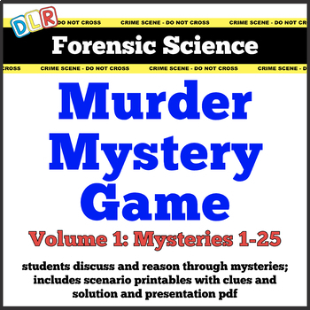 graphic about Free Printable Mystery Games titled Forensics Video games Lecturers Pay back Academics