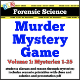 Forensic Science Murder Mystery Activity
