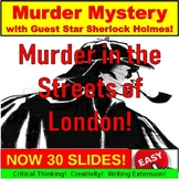 Murder Mystery Game PowerPoint: End of the Year, Holidays,