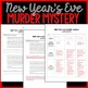 New Year's Eve Murder Mystery Inference Activity