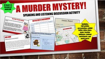 Murder Mystery Investigation!