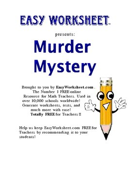 Murder Mystery Puzzle (Law of Syllogism and Detachment)