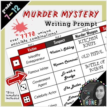 Murder Mystery Writing Prompt