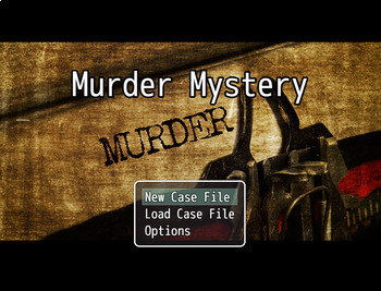 Murder Mystery Video Game and Literacy Activity