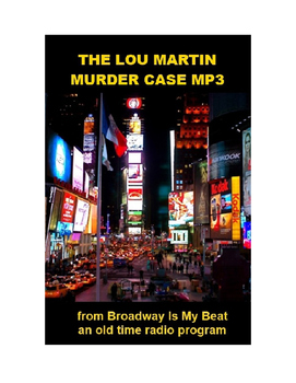 Murder Mystery mp3 - The Lou Martin Murder Case
