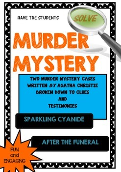 Murder Mystery - Solve two murder mysteries by Agatha Christie