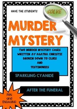 Murder Mystery - Solve two murder mysteries by Agatha Christie