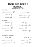Murder Mystery with Negative Exponents (version 2)