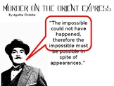 Murder On The Orient Express Pre-Read