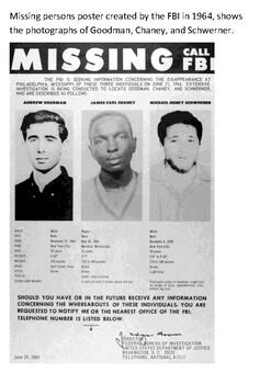 Murder in Mississippi - Mississippi Burning 1964 Handout