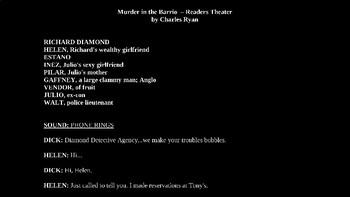 Murder in the Barrio - Hardboiled Detective PowerPoint!