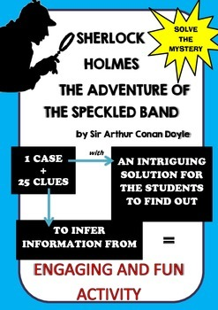 Murder mystery - Solve the original case of Sherlock Holme