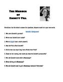 Emmett Till Webquest-Black History Month -Google Classroom Compatible!