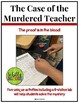 Murder on Campus! A forensic blood analysis lab - Blood spatter blood type