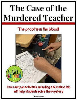 Forensic Science - Murder on Campus! A forensic blood analysis lab