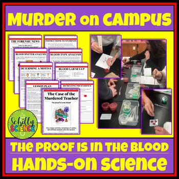 Forensic Science - CSI Blood Lab