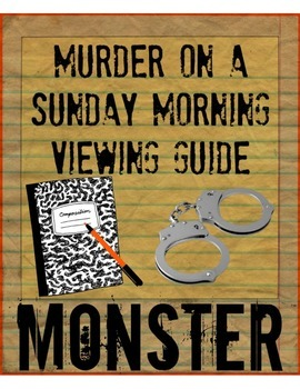 murder on a sunday morning viewing guide monster by walter dean  murder on a sunday morning viewing guide monster by walter dean myers