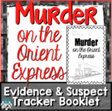 Murder on the Orient Express Booklet Suspect Tracker