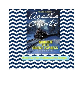 Murder on the Orient Express Novel Tasks