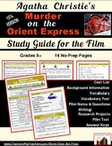 Murder on the Orient Express: Study Guide for the Film (13
