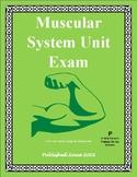 Musclar System Exam / Summative Study Guide
