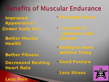 Muscle Endurance Powerpoint