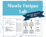 Muscular System - Muscle Fatigue Lab (NGSS MS- LS1-3, HS-LS1-2, HS-LS1-3)