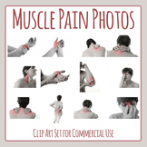 Muscle Pain / Aches and Pains / First Aid Pain Images / Photos / Clip Art