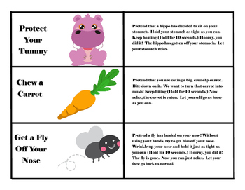 Muscle Relaxation Cards